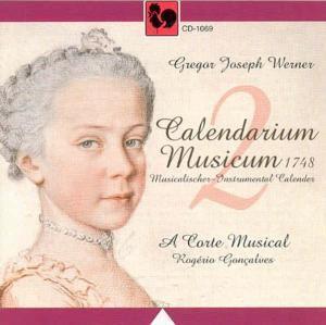 Calendarium Musicum 1748 Vol.2, A Carte Musical
