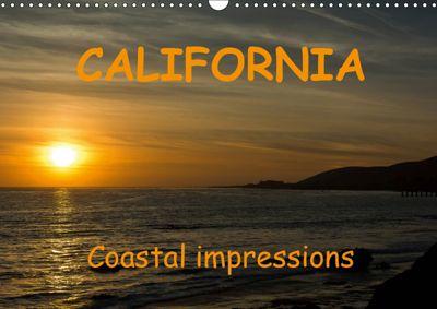 CALIFORNIA Coastal impressions (Wall Calendar 2019 DIN A3 Landscape), Andreas Schoen