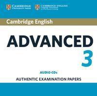 Cambridge English Advanced 3, 3 Audio-CDs