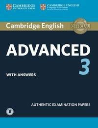 Cambridge English Advanced 3 - Student's Book with answers and downloadable audio