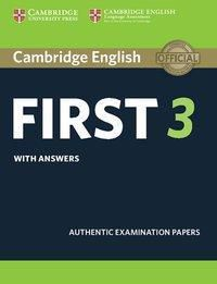 Cambridge English First 3 - Student's Book with answers