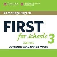 Cambridge English First for Schools 3: 3 Audio-CDs