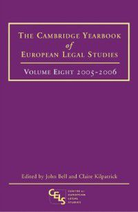 Cambridge Yearbook of European Legal Studies: Cambridge Yearbook of European Legal Studies, Vol 8, 2005-2006