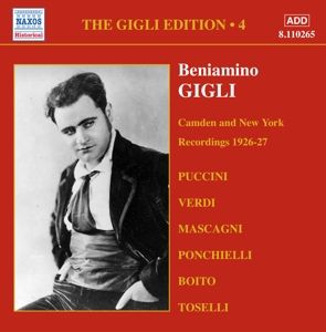 Camden And New York (Vol.4), Beniamino Gigli