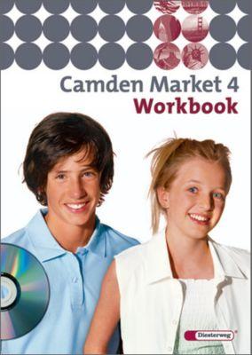 Camden Market, Ausgabe Sekundarstufe I: Bd.4 8. Klasse, Workbook m. Audio-CD