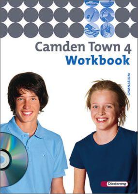 Camden Town, Ausgabe Gymnasium: Bd.4 Workbook für Klasse 8, m. Audio-CD