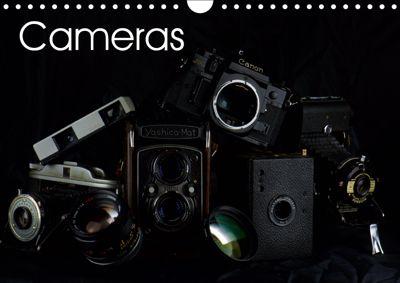 Cameras (Wall Calendar 2019 DIN A4 Landscape), Gianluigi fiori