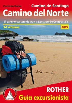 Camino de Santiago - Camino del Norte (spanische Ausgabe), Cordula Rabe