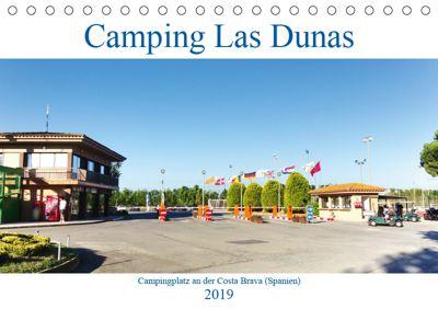Camping Las Dunas (Tischkalender 2019 DIN A5 quer), Andreas Vogler