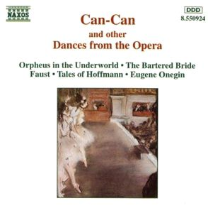 Can-Can und andere Tänze aus Opern, Diverse Interpreten