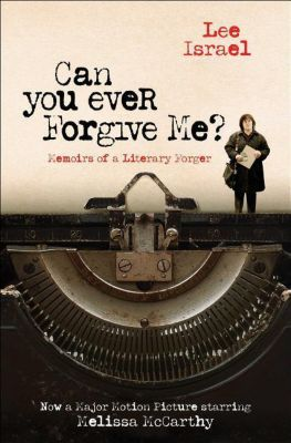 Can You Ever Forgive Me? (Film Tie-In), Lee Israel