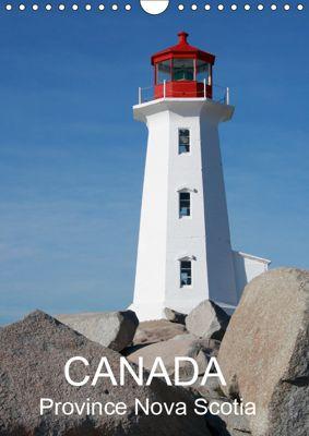 Canada Province Nova Scotia (Wall Calendar 2019 DIN A4 Portrait), k.A. Matheisl