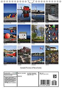 Canada Province Nova Scotia (Wall Calendar 2019 DIN A4 Portrait) - Produktdetailbild 13