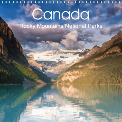 Canada Rocky Mountains National Parks (Wall Calendar 2019 300 × 300 mm Square), Juergen Schonnop