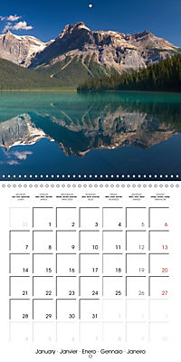 Canada Rocky Mountains National Parks (Wall Calendar 2019 300 × 300 mm Square) - Produktdetailbild 1