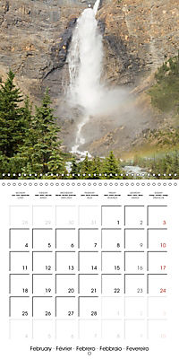 Canada Rocky Mountains National Parks (Wall Calendar 2019 300 × 300 mm Square) - Produktdetailbild 2