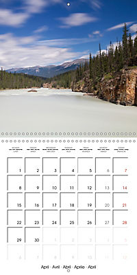 Canada Rocky Mountains National Parks (Wall Calendar 2019 300 × 300 mm Square) - Produktdetailbild 4