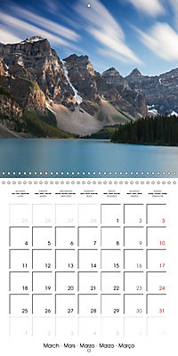 Canada Rocky Mountains National Parks (Wall Calendar 2019 300 × 300 mm Square) - Produktdetailbild 3