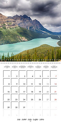 Canada Rocky Mountains National Parks (Wall Calendar 2019 300 × 300 mm Square) - Produktdetailbild 7