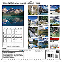Canada Rocky Mountains National Parks (Wall Calendar 2019 300 × 300 mm Square) - Produktdetailbild 13