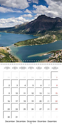Canada Rocky Mountains National Parks (Wall Calendar 2019 300 × 300 mm Square) - Produktdetailbild 12