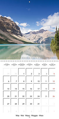 Canada Rocky Mountains National Parks (Wall Calendar 2019 300 × 300 mm Square) - Produktdetailbild 5
