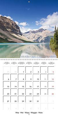 Canada Rocky Mountains National Parks (Wall Calendar 2019 300 × 300 mm Square) - Produktdetailbild 5