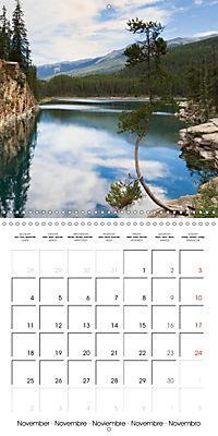 Canada Rocky Mountains National Parks (Wall Calendar 2019 300 × 300 mm Square) - Produktdetailbild 11
