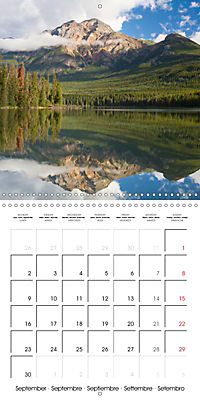 Canada Rocky Mountains National Parks (Wall Calendar 2019 300 × 300 mm Square) - Produktdetailbild 9