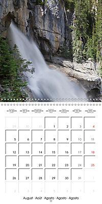 Canada Rocky Mountains National Parks (Wall Calendar 2019 300 × 300 mm Square) - Produktdetailbild 8