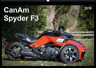 CanAm Spyder F3 (Wandkalender 2019 DIN A2 quer), Jürgen Wolff