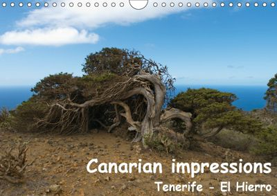 Canarian impressions Tenerife - El Hierro / UK-version (Wall Calendar 2019 DIN A4 Landscape), Stefan Dummermuth