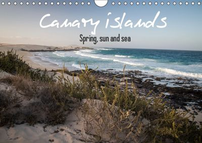 Canary Islands, Spring, sun and sea (Wall Calendar 2019 DIN A4 Landscape), Natalia Volkova