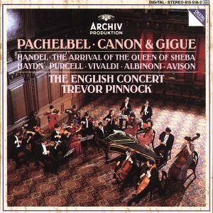 Canon & Gigue, Trevor Pinnock, Ec