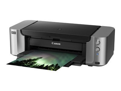 CANON PIXMA PRO-100S A3+ 8-Tintensystemprinter to 4800x2400dpi CD-/ DVD-print Lan Wlan Apple Air-Print PictBridge