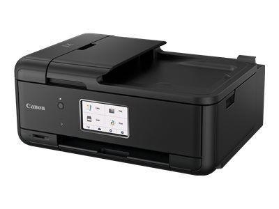 CANON Pixma TR8550 Schwarz A4 MFP 4in1 Multifunktionssystem 4800x1200dpi drucken kopieren scannen und faxen 5 Tintentank