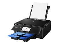 CANON Pixma TS8150 Schwarz A4 MFP 3 in 1 drucken kopieren scannen Cloud Link 10,8cm LC-Display 6 Tintensystem WLAN 4.800x1.200dpi - Produktdetailbild 3