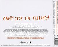 "Can't Stop The Feeling! (Original Song From ""Trolls"") (2-Track Single) - Produktdetailbild 1"