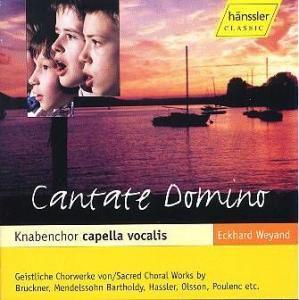 Cantate Domino, Weyand, Knabenchor Capella Voca