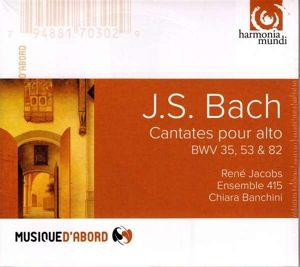 Cantates Pour Alto, Jacobs, Ensemble 415, Banchini