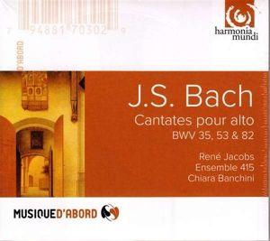 Cantates Pour Alto, Jacobs, Ensemble 415, Banchini