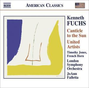Canticle To The Sun/United Artists, Jones, Falletta, Lso