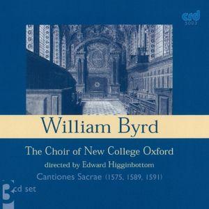Cantiones Sacrae C.1575,1589,1591, Choir Of New College Oxford, Edward Higginbottom