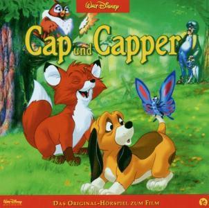 Cap und Capper, 1 Audio-CD, Walt Disney