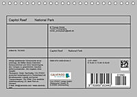 Capitol Reef National Park, Utah - USA (Tischkalender 2019 DIN A5 quer) - Produktdetailbild 13