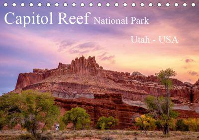 Capitol Reef National Park, Utah - USA (Tischkalender 2019 DIN A5 quer), Thomas Klinder