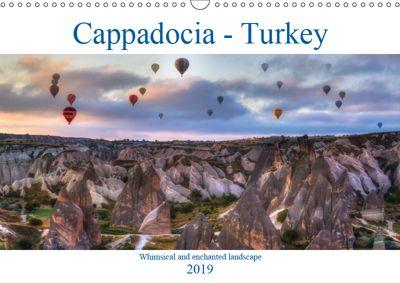 Cappadocia - Turkey (Wall Calendar 2019 DIN A3 Landscape), Joana Kruse