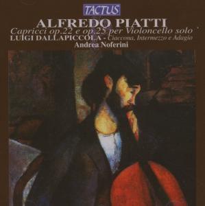 Capricen für Violoncello Solo, Andrea Noferini