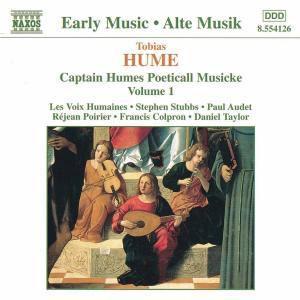 Capt.Humes Poeticall M.Vol.1, Stubbs, Audet, Poirier, Colpron