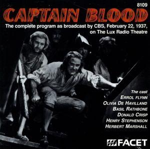 Captain Blood/Radio 1937, Errol Flynn, Marshall, Havilland
